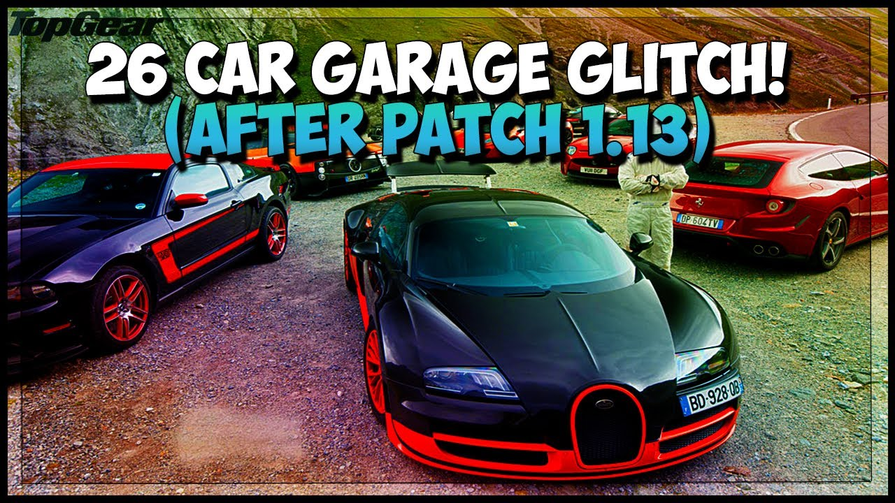 Gta 5 online 13 car garage glitch how to store 13 cars for Garajes gta v online