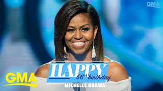 Happy birthday, Michelle Obama! l GMA Digital