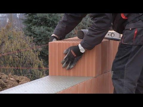 EDER - pustak szlifowany XP 36.5 - film instruktażowy. murowanie ściany - Budmax Nakło