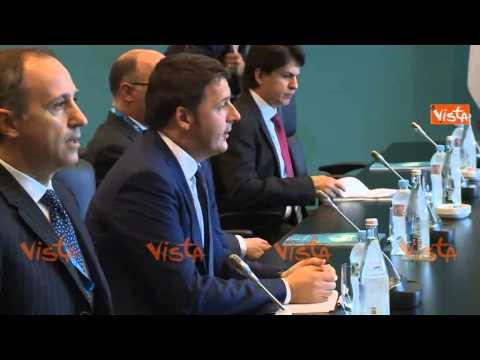 G20 AUSTRALIA RENZI INCONTRA PRES INDONESIA JOKO WIDODO 15-11-14