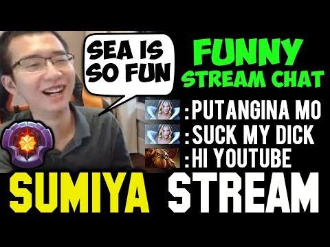 SUMIYA vs Trashtalker SEA Server Funny Game | Sumiya Invoker Stream Moment #282