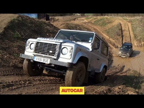 Suzuki Jimny vs Land Rover Defender - www.autocar.co.uk
