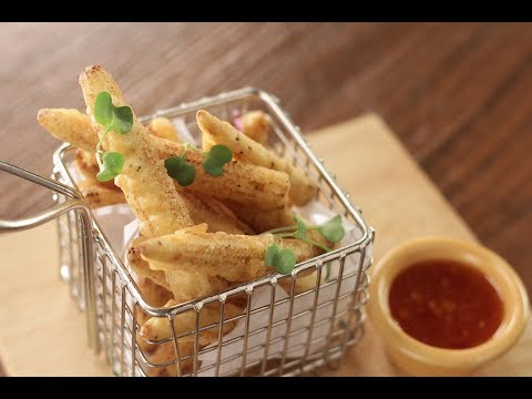 Babycorn Fritters | Sanjeev Kapoor Khazana