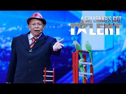 Talented ගිරව් Got Talent ඇවිත් - හැමෝම Yes කියයි | SLGT | Sri Lanka's Got Talent