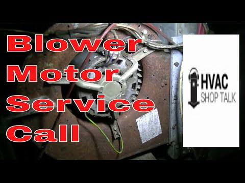 HVAC Service- Troubleshooting a Blower motor