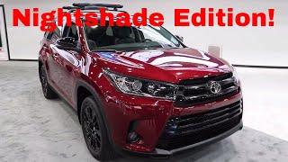 2019 Toyota Highlander Nightshade