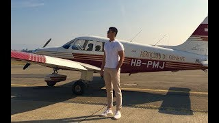 I FLEW AN AIRPLANE FOR THE FIRST TIME!!!!!