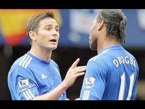 Frank Lampard .Didier Drogba Chelsea Legends