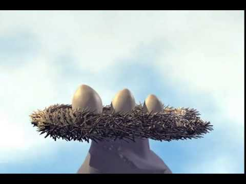 """Короткий мультик - """"Плохие яйца"""". Bad Eggs - Short Animation"""