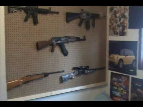 Gun Wall Youtube