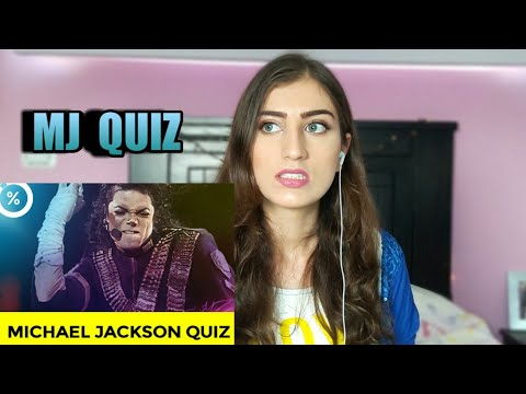 PLAYING A MICHAEL JACKSON QUIZ
