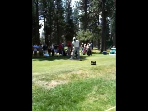 Jerry rice teeing off