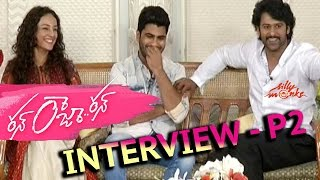 Prabhas Interviewing Sharwanand P2 - Run Raja Run - Exclusive