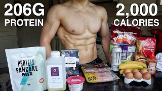 Full Day of Eating for Fat Loss & Muscle Gain | High Protein Low Calorie Meals...