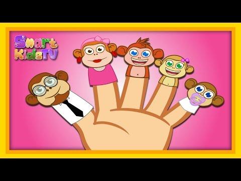 Five Little Monkeys – Sevimli Dostlar- İngilizce Çizgi Film Çocuk Şarkıları Videoları