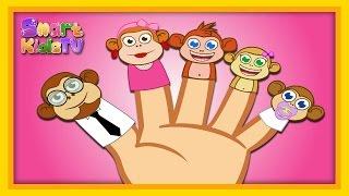 Finger Family Maymun Ailesi - Adisebaba İngilizce Çocuk Şarkıları 2015