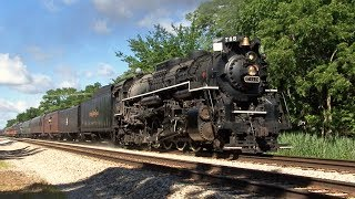 NKP 765 at 60mph - The Joliet Rocket