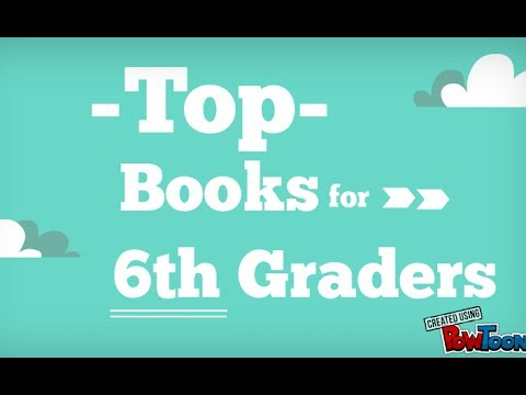 6th grade book report list