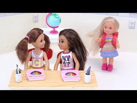 НА КОГО ТЫ МЕНЯ ПРОМЕНЯЛА? Мультик #Барби Куклы Для девочек Про Школу IkuklaTV