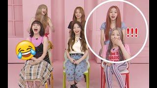 Download rocket punch (로켓펀치) members react to juri's korean Mp3/Mp4