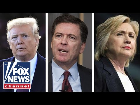 Media pounce on report Trump wanted Clinton, Comey probes