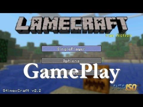 Lamecraft S4inexcraft 2.2 Link GamePlay PSP CZ HD