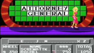 ScrewAttack Video Game Vault: Wheel of Fortune