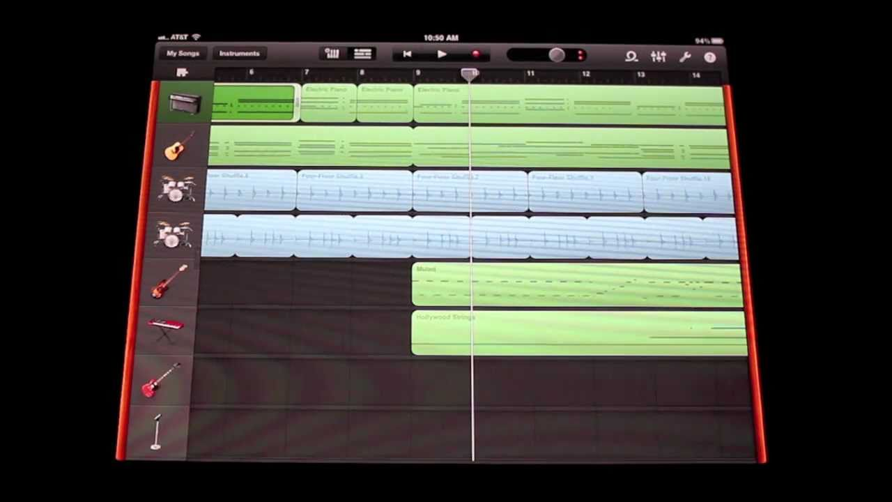 Ipad 1 vs Ipad 2 Garageband Garageband Song on Ipad 2 Wow
