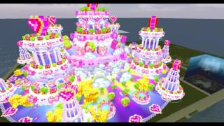 Glimpse of the SL13B Cake Stage in Second Life (machinima)