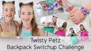 Twisty Petz Backpack Switch Up Challenge And Unboxing