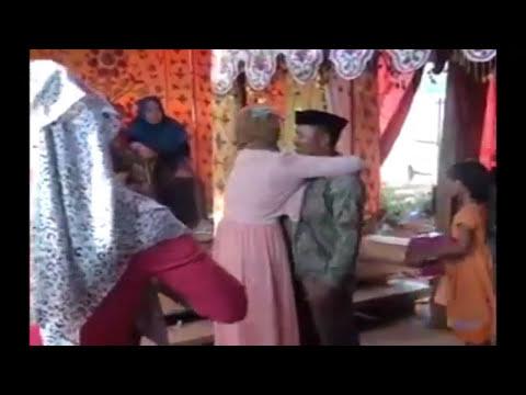 VIDEO RISNA MENGHADIRI PERNIKAHAN RAIS KEKASIHNYA