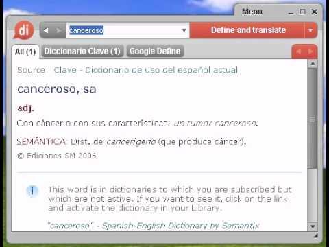 Definición de canceroso