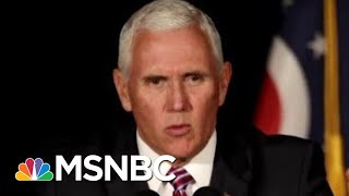 Trump & Pence Honor MLK Day With 3 Minute 'Surprise' Visit To Dr. King's Memorial | Deadline | MSNBC
