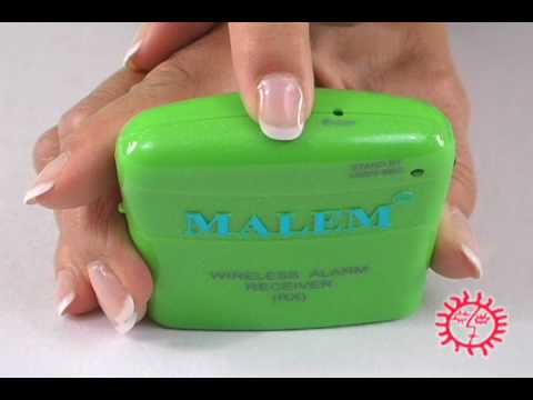 Bedwetting Store:  Malem Wireless Bedwetting Alarm