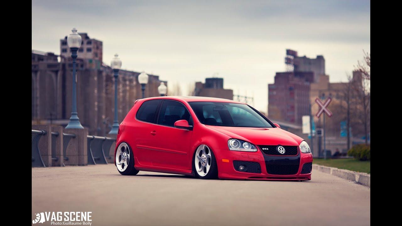 Golf 5 sport red
