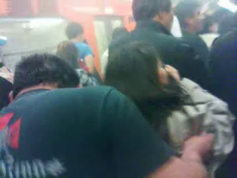 Metro quemandose línea 7 27-12-13