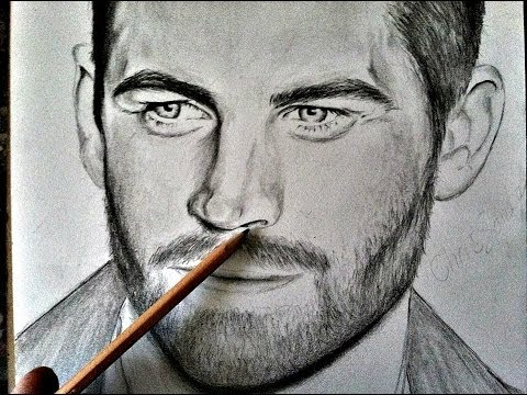Paul Walker Pencil Time-Lapse (RIP)