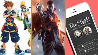 Kingdom Hearts 3 WHEN? + Battlefield 1 Gets Private + Rhino Turns to Tinder - The Know
