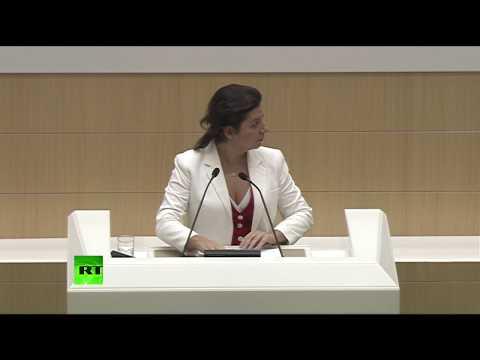 Маргарита Симоньян выступает в Совете Федерации — LIVE