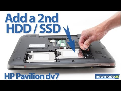 Hp dv7t. dv7 6xxx series 2nd HDD / SSD installation (dv7-6000 cable)