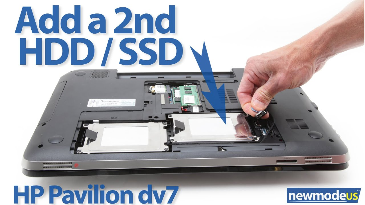 how to set up a second hard drive