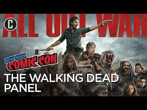 The Walking Dead Season 8 Panel - NYCC 2017