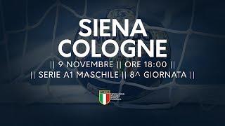 Serie A1M [8^]: Siena - Cologne 26-21