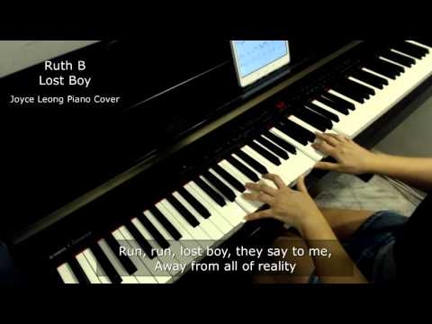 Ruth B - Lost Boy Piano Cover (with lyrics) & Sheets