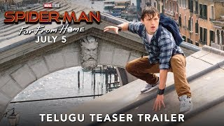 Spider-Man Far From Home - Official Telugu Teaser Trailer | July 5 - 2019