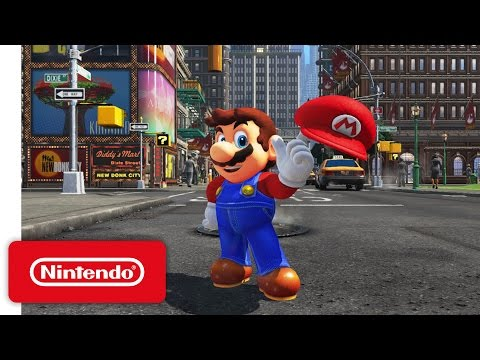 Super Mario Odyssey sees Mario leave the Mushroom Kingdom to go on a new sandbox-style journey! Available Now exclusively on Nintendo Switch! Learn more about Super Mario Odyssey! http://supermari...