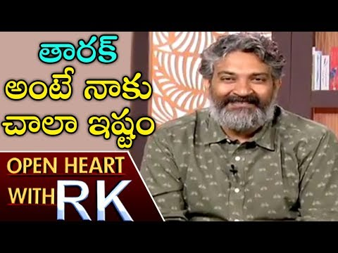Director SS Rajamouli About Anushka And Jr NTR   Open Heart With RK   ABN Telugu