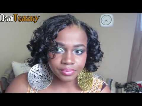 The FAMOUS invisible part- Full Head Sew-in   DanTemmy