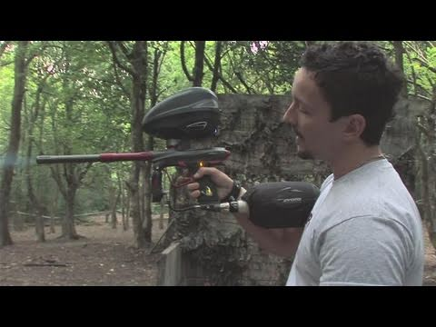 How To Fire A Paintball Gun Fast