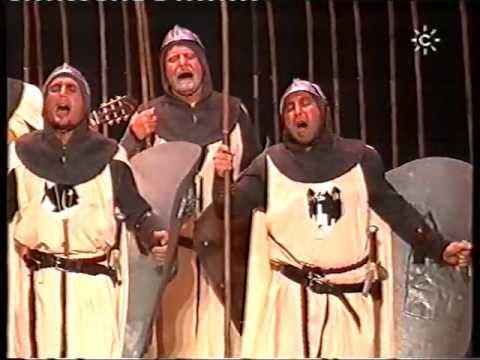 Comaparsa - Los Templarios \ Actuación Completa en la FINAL \ Carnaval 1999
